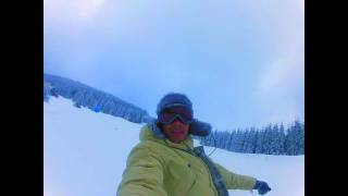 BEN CRISTOVAO FIRST SNOWBOARD FUNDAY