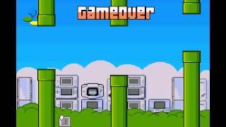 Frappy SNES (flappy bird clone) - Frappy SNES (flappy bird clone) (SNES / Super Nintendo) - High Score 2 - User video