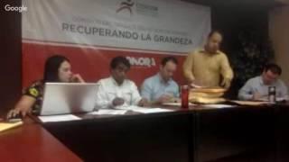 LICITACIÓN PARA LA SUPERVISIÓN DE LA OBRA PÚBLICA DE LA ALBERCA OLÍMPICA HÉROES DE CABORCA