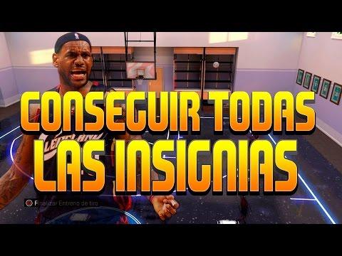 CONSEGUIR TODAS LAS INSIGNIAS DEL NBA 2K16