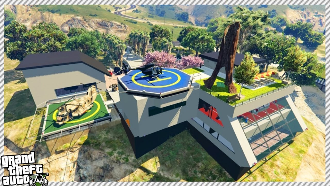 New super rich billionaires mega mansions in gta 5 youtube for Super mega mansions