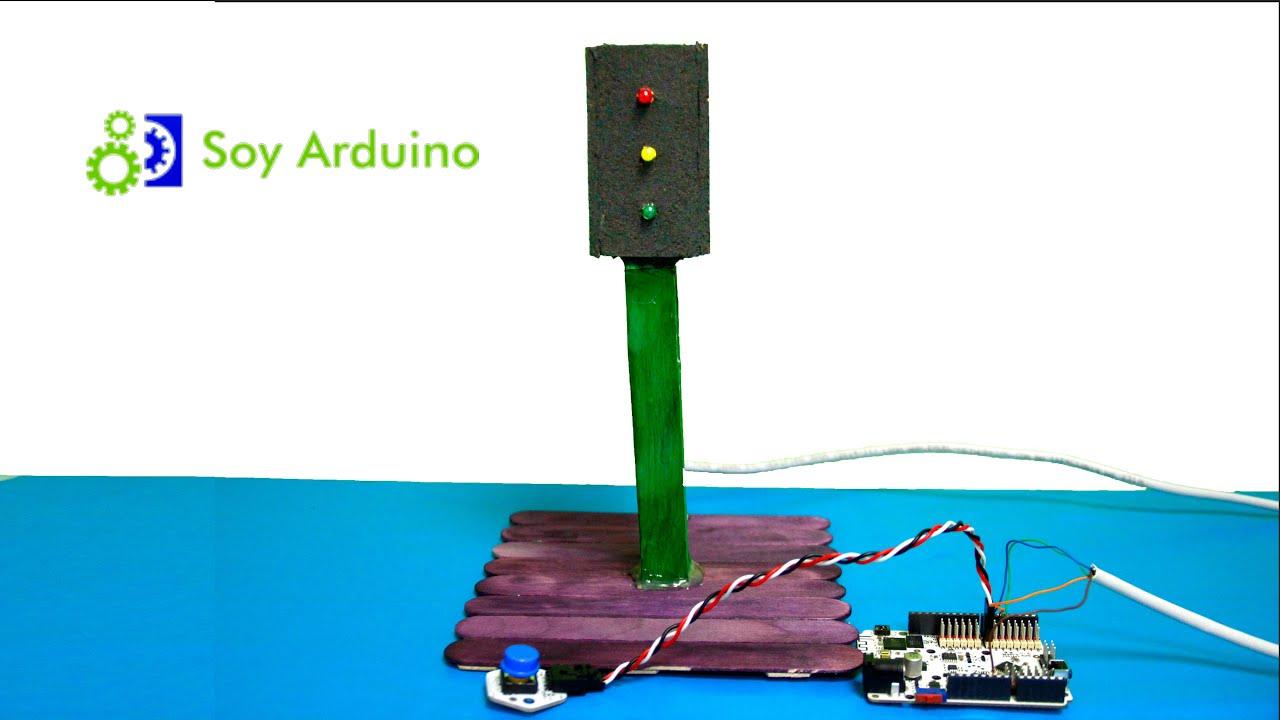 Construir un semáforo con arduino youtube