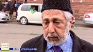BBC: Funeral of Ahmadiyya Muslim Asad Shah who was killed for his faith in Glasgow Scotland