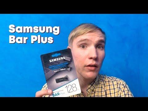 Hands On: Samsung Bar Plus — Зачем нужны флешки в 2019?