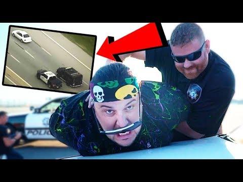 Izadi Arrested Police Chase Las Vegas