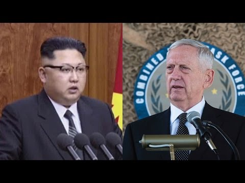 HE'S UNBELIEVABLE! MATTIS JUST SCARED KIM JONG UN TO DEATH WITH THESE 5 WORDS!