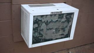 *Old Video* 9-23-11 Fridgidaire Window Unit