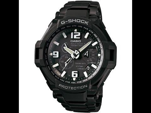Обзор и настройка часов Casio G - shock GW-4000D-1A [5087]