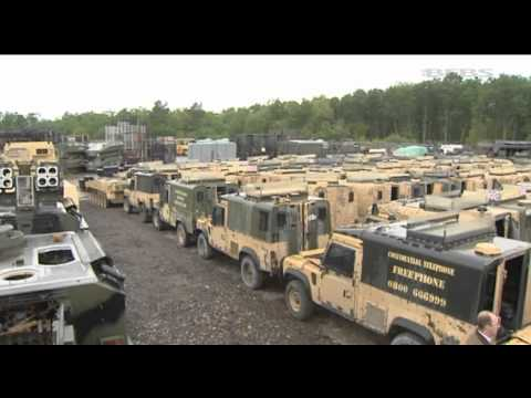 British Forces Vehicles Prove A Valuable Source Of Income | Forces TV