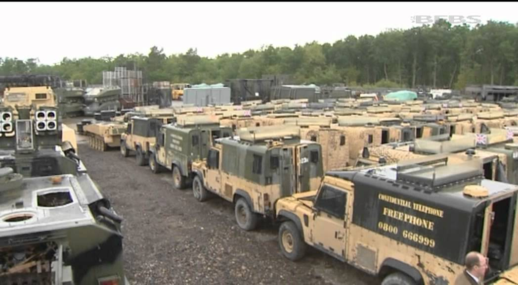 British Forces Vehicles Prove A Valuable Source Of Income | Forces ...