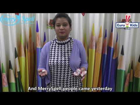 Merry Spell Event at Euro Kids - Teacher Testimonial Miss Nidhi