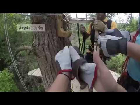 Pine Mountain Zipline Canopy Tour at Pine Mountain State Resort Park