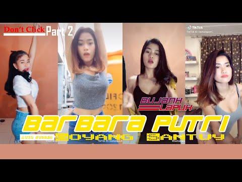 Goyang Santuy Barbara Putri   TikTok Part 2