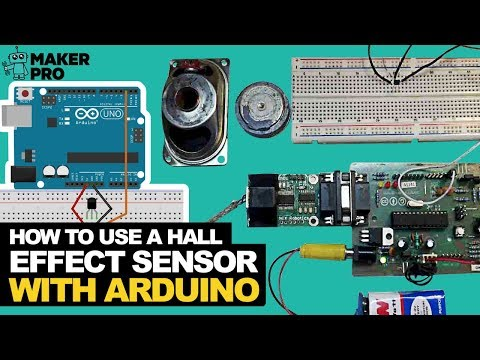 Arduino Hall Effect Sensor Tutorial