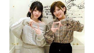 アイドルグループ・AKB48の岡田奈々(20)と村山彩希(ゆいり=...