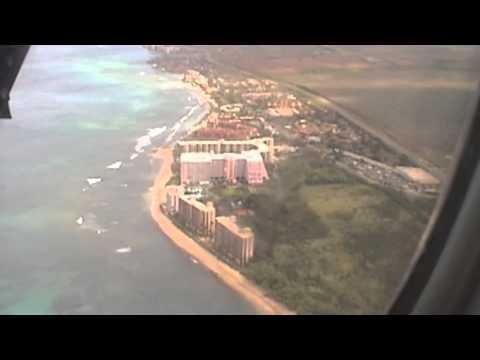 Island Air Dash 8 Kapalua JHM Landing