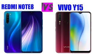 Vivo Y19 vs Xiaomi Redmi Note 8 Pro | SpeedTest and Camera comparison.