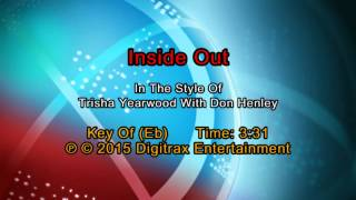 Trisha Yearwood (w/ Don Henley) - Inside Out (Backing Track)