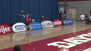 Dayton Volleyball Highlights Vs. Rhode Island