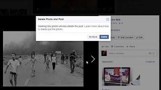 """فيسبوك"""" يزيل الحظر عن صورة لطفلة عارية تهرب من نابلم حرب فيتنام"""