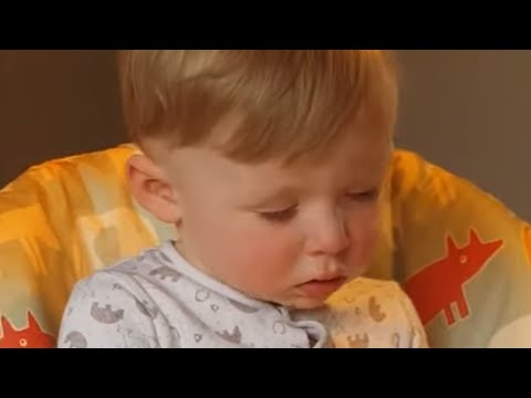 Joey Brooks - Toddler Literally Can't Stay Awake During Dinner