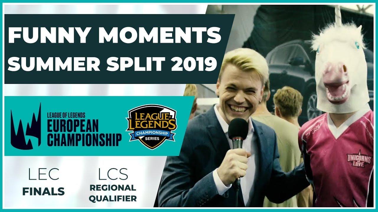 Funny Moments - LEC Finals & LCS Regional Qualifier - Summer Split 2019