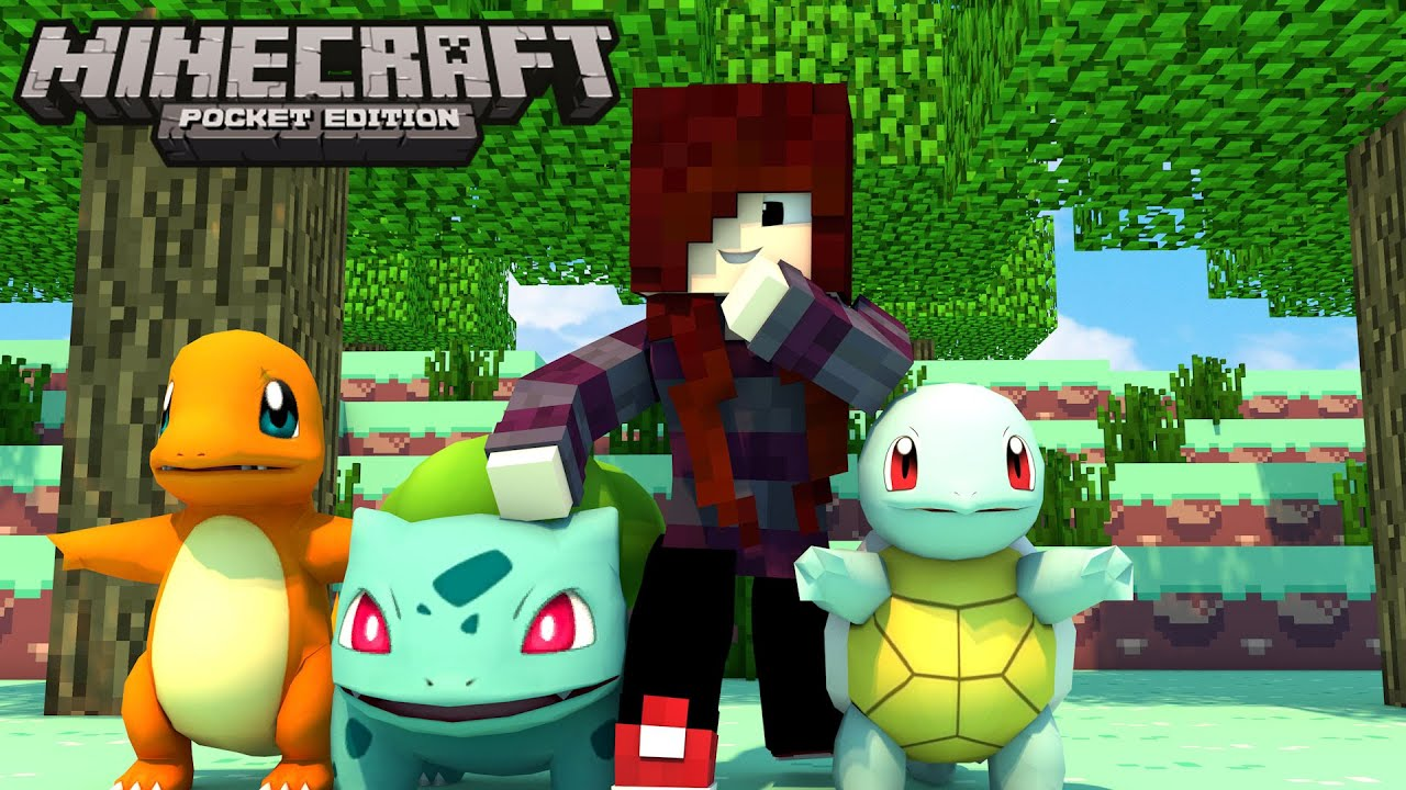 how to get pokemon on minecraft pocket edition
