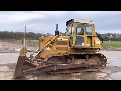 Used heavy machinery FIAT-ALLIS FD14 Bulldozer