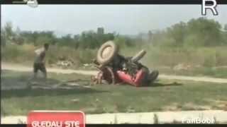 Traktor balesetek