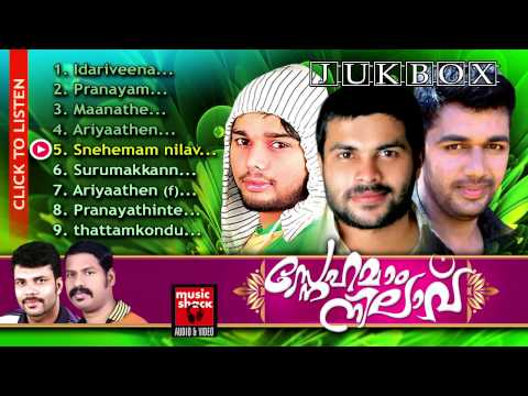Mappila Album Songs New 2014 | Snehamaam Nilaavu | Saleem Kodathoor,Thanseer Koothuparamba,Shafi
