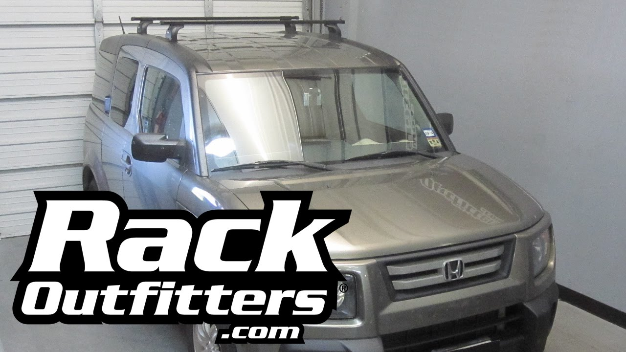 Honda Element Thule Podium Square Bar Roof Rack By Rack