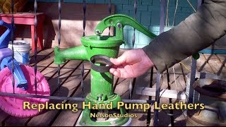 Replacing Hand Pump Leathers