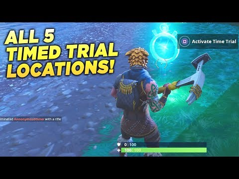 ALL 5 TIMED TRIAL LOCATIONS!
