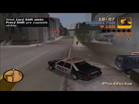 GTA 3 Prvy Dojem s Hry Slovensky Jazyk :)