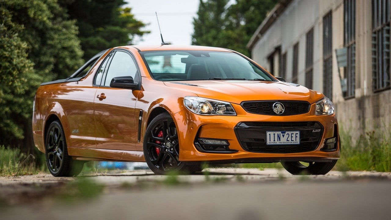 2018 Review Holden Ute Ss V Redline Youtube