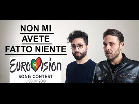Ermal Meta & Fabrizio Moro - Non mi avete fatto niente EUROVISION 2018 - ITALY