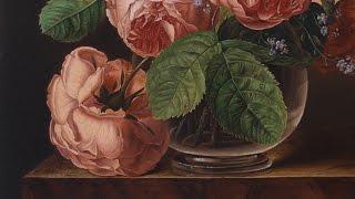Рисуем розу. Часть 2.(Рисуем цветок, розу. Фрагмент. Часть 2. Цветочный натюрморт. Полное видео. Натюрморт с розами. Копия картины...., 2016-03-21T22:04:41.000Z)