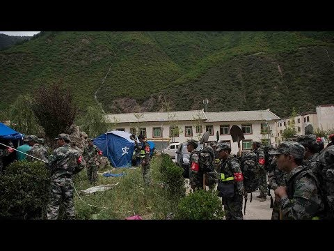 Three more bodies found after M7.0 Sichuan earthquake