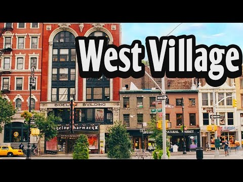 A Walk in the West Village, New York City