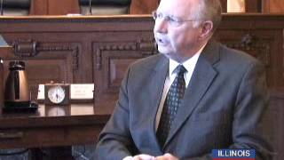 Illinois Chief Justice Thomas Kilbride Goes One-on-One