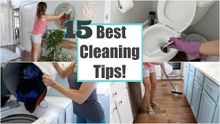 15 Best Cleaning Tİps and Hacks | Clean with Me