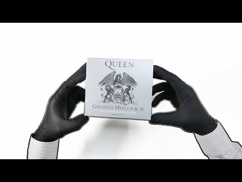Queen - Greatest Hits I II And III (The Platinum Collection) - ASMR Unboxing