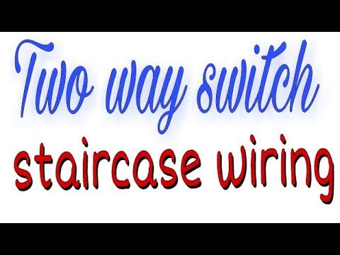 2 Way Switch ke wiring Connection Kaise Kare Electric Hindi Guru