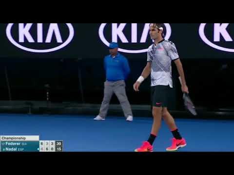 """Roger Federer - """"Hello!"""""""