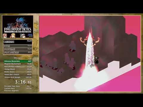 Final Fantasy Tactics War Of The Lions Speedrun IOS (IPAD) Any% {Skipped Cutscenes}