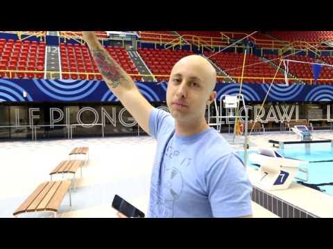 Olympic Pool Photo Shoot (Behind The Scenes) - Simple Plan