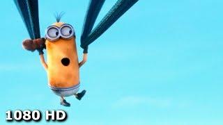 Миньон Кевин приземляется на огромных шортах | Миньоны (2015)