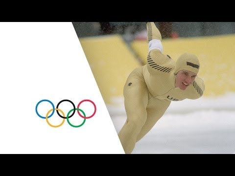 Speed Skating Legend Eric Heiden Wins Gold - Lake Placid 1980 Winter Olympics