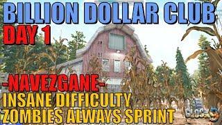7 Days To Die - Billion Dollar Club Day 1 (Navezgane Restart)