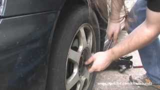 Ball Joint Broke! How to replace upper ball joint/control arm on 5th Gen. Honda Accord Tutorial